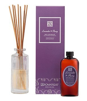 Aromatique Lavender & Peony Reed Diffuser Set