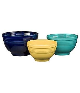 Fiesta 3-Piece Mixing Bowl Set