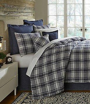 Cremieux Winslow Plaid Linen Comforter Mini Set