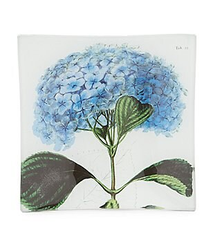 Ben´s Garden Hydrangea Decoupage Glass Tray