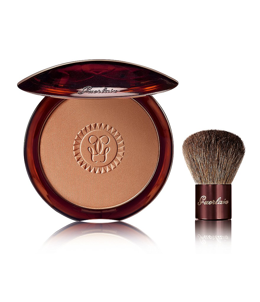 Guerlain Terracotta Bronzing Powder with Mini Kabuki Brush