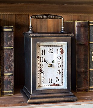 Park Hill Metal Cased Clock