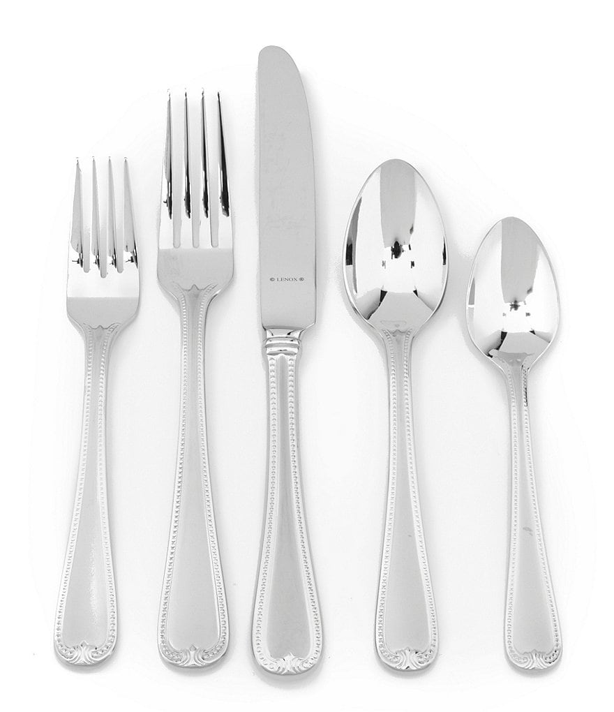 Lenox Vintage Jewel Frosted Flatware