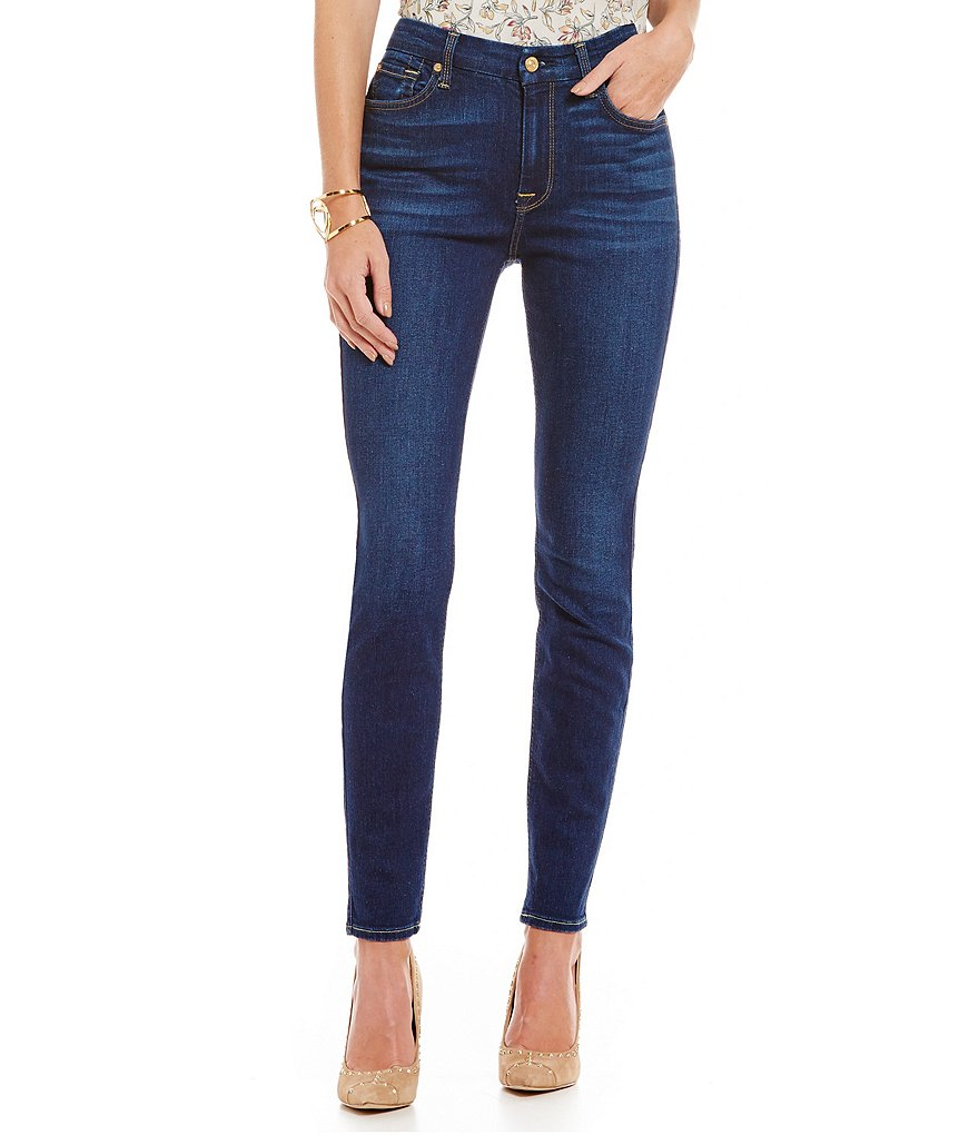 7 for All Mankind High Waist Skinny Jean