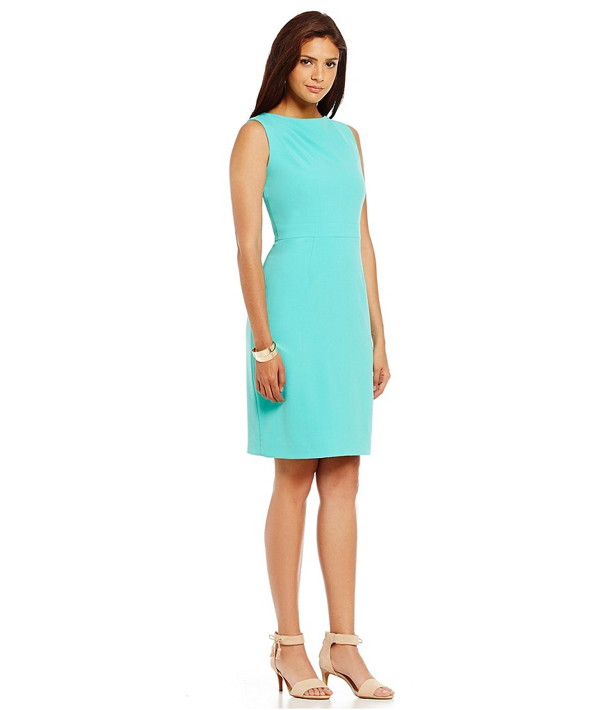 Alex Marie Aesthetic Allure Jackie Crepe Sheath Dress