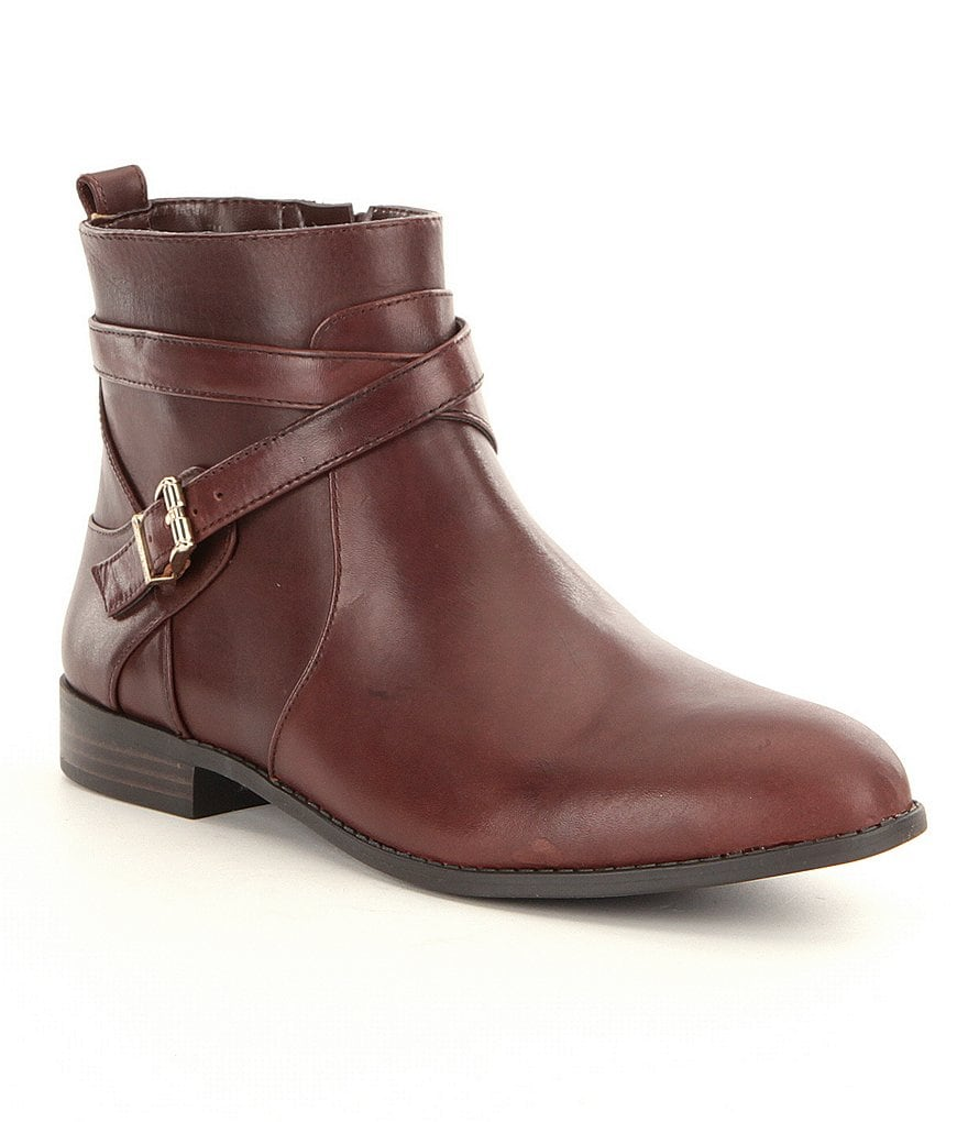 Alex Marie Carigan Buckle Detailed Booties