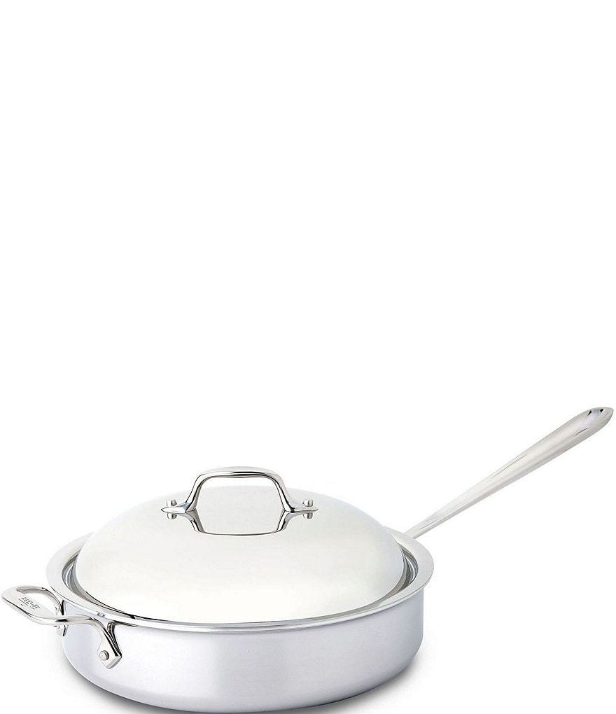 All-Clad Stainless Steel 4-Quart Sauté Pan with Dome Cover