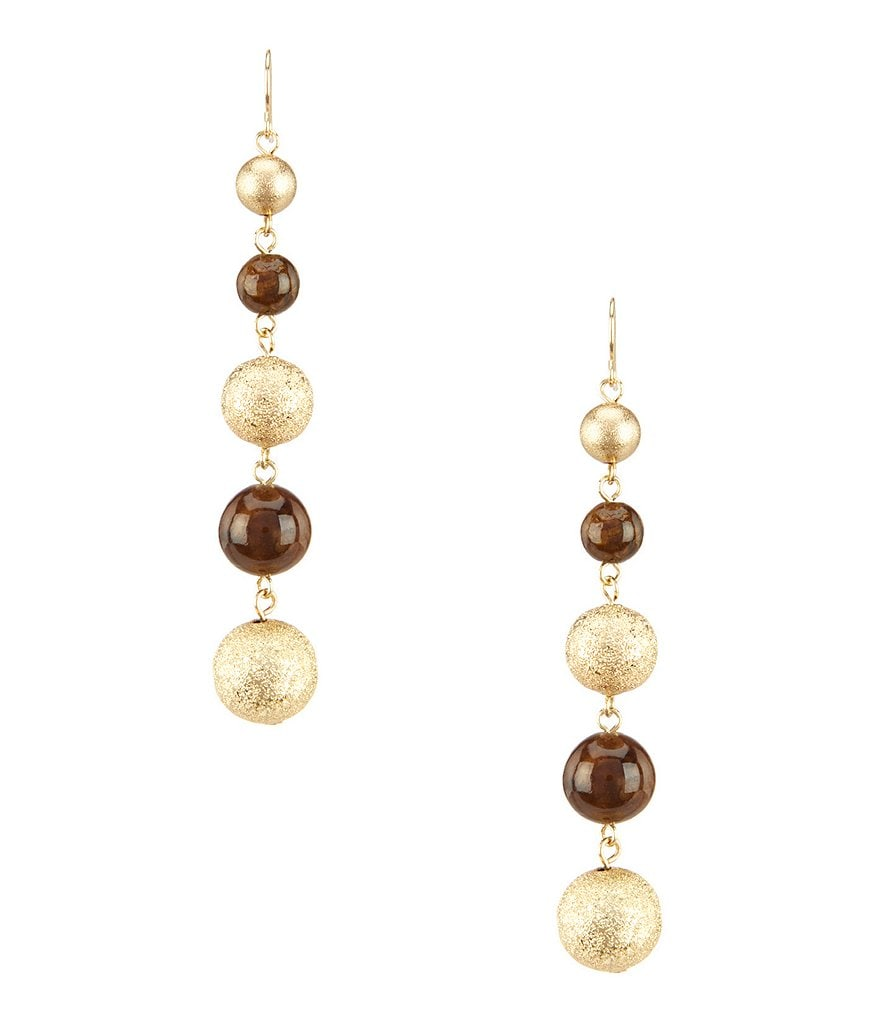 Anna & Ava Ball Drop Earrings