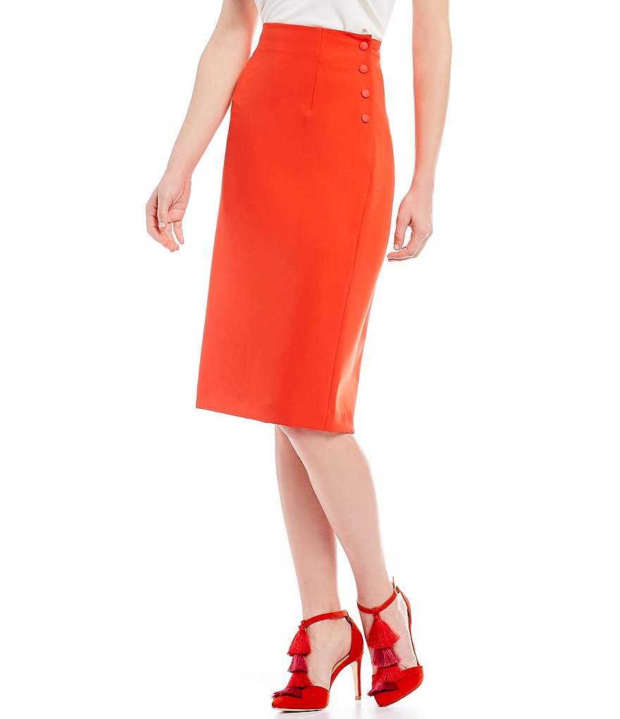 Antonio Melani Junie Midi Pencil Skirt by Antonio Melani