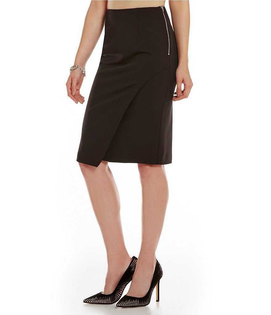 Antonio Melani Tobis Stretch Crepe Pencil Skirt
