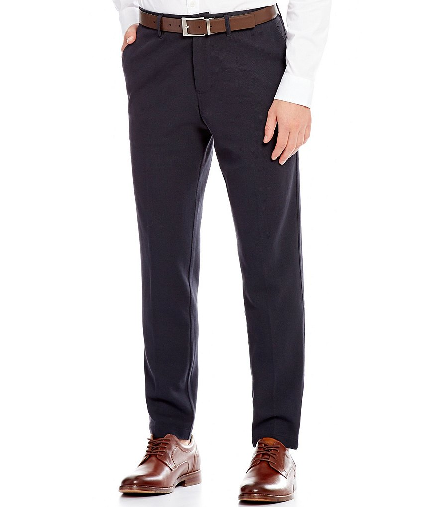 Armani Exchange Flat-Front Pants
