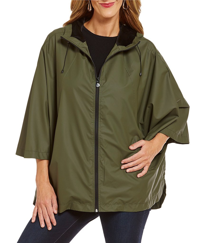 Bernardo Hooded Rain Cape