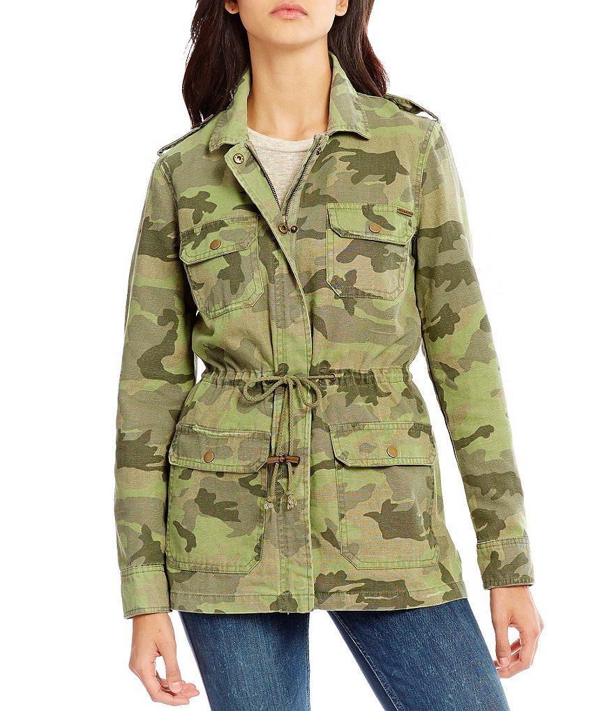 Billabong Can´t See Me Camouflage Cargo Jacket