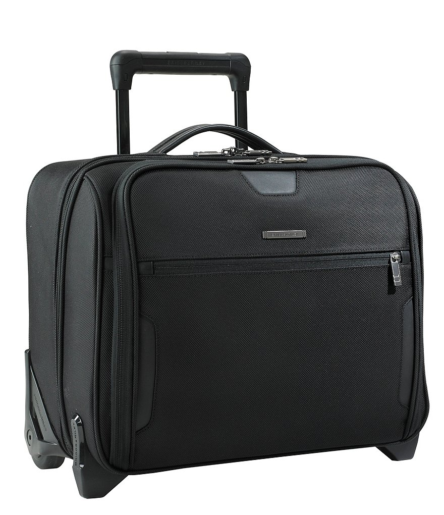 Briggs & Riley @Work Collection Medium Slim Rolling Briefcase