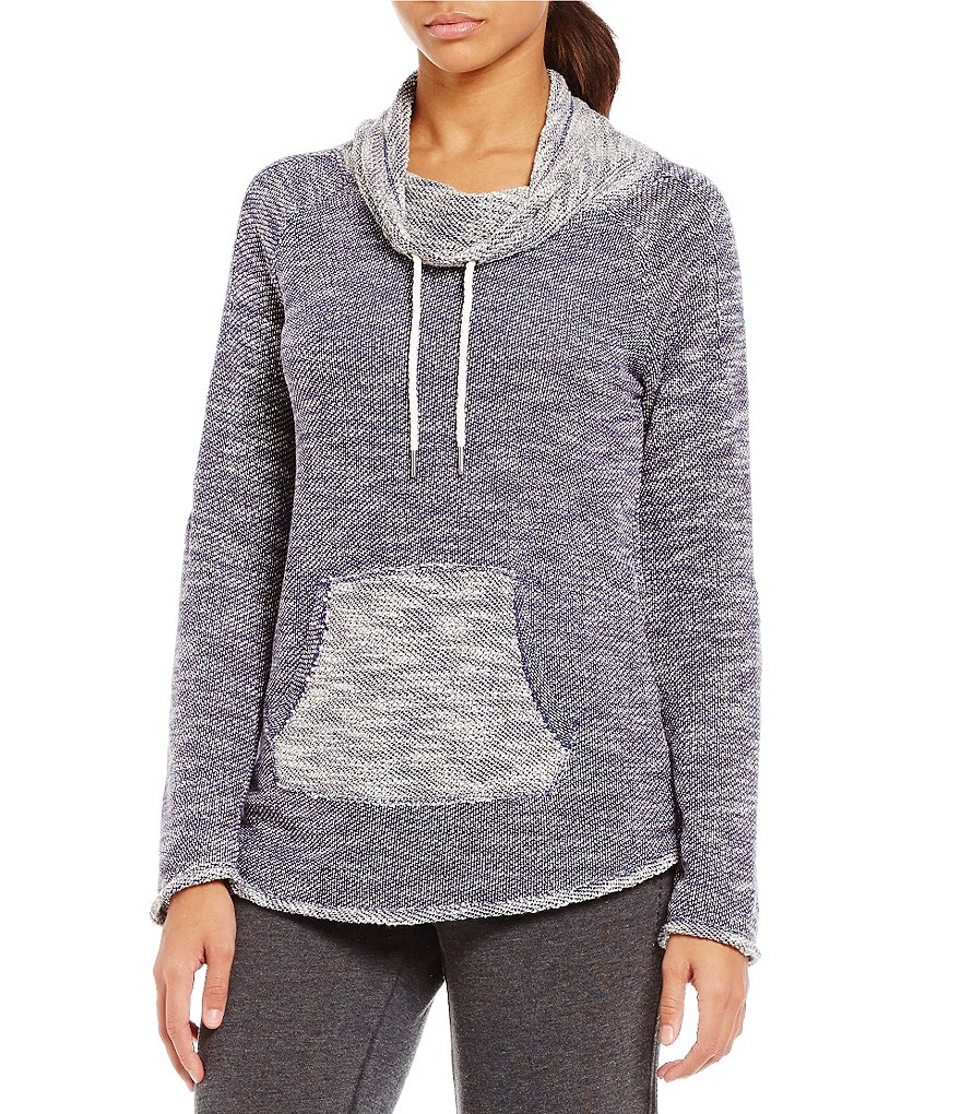 Calvin Klein Performance Funnel Neck French Terry Sweatshirt