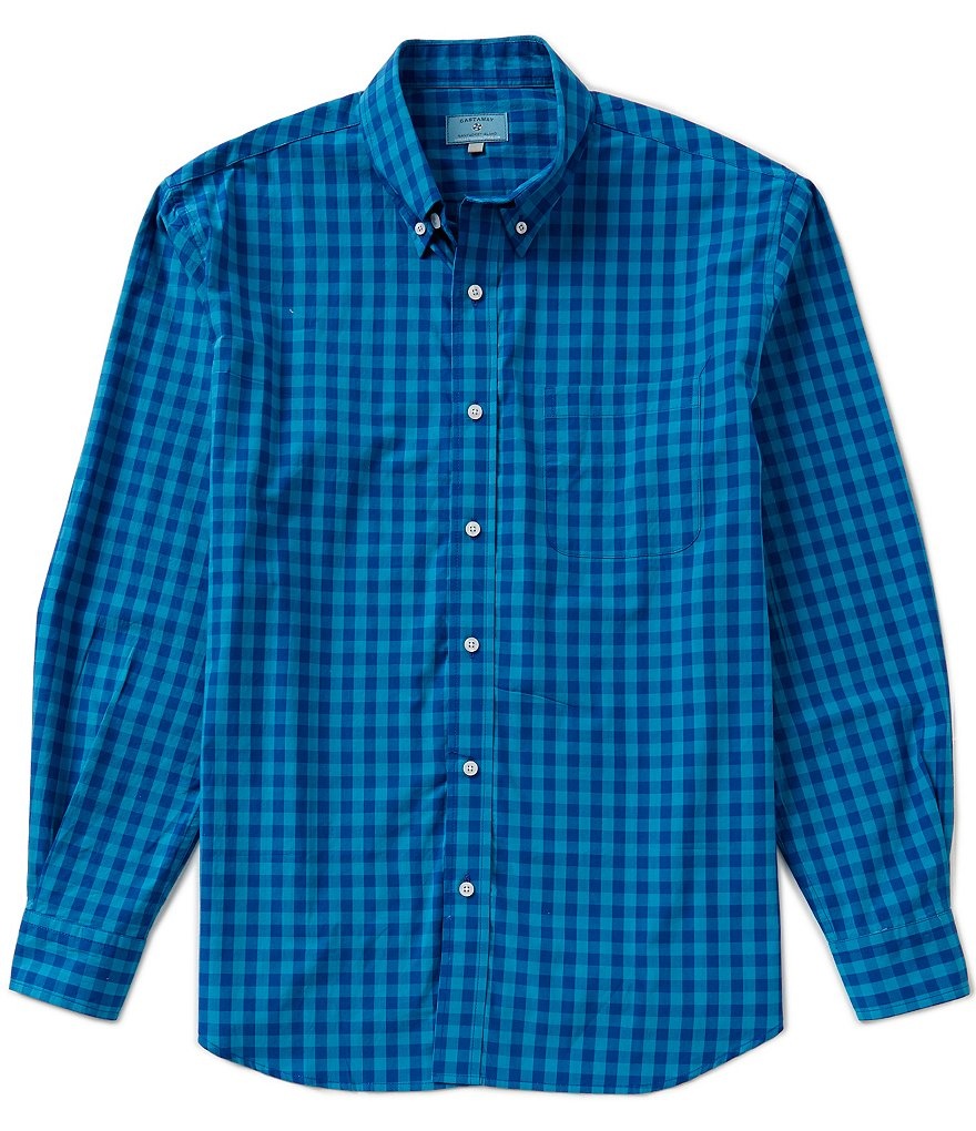 Castaway Nantucket Island Chase Buffalo Check Shirt