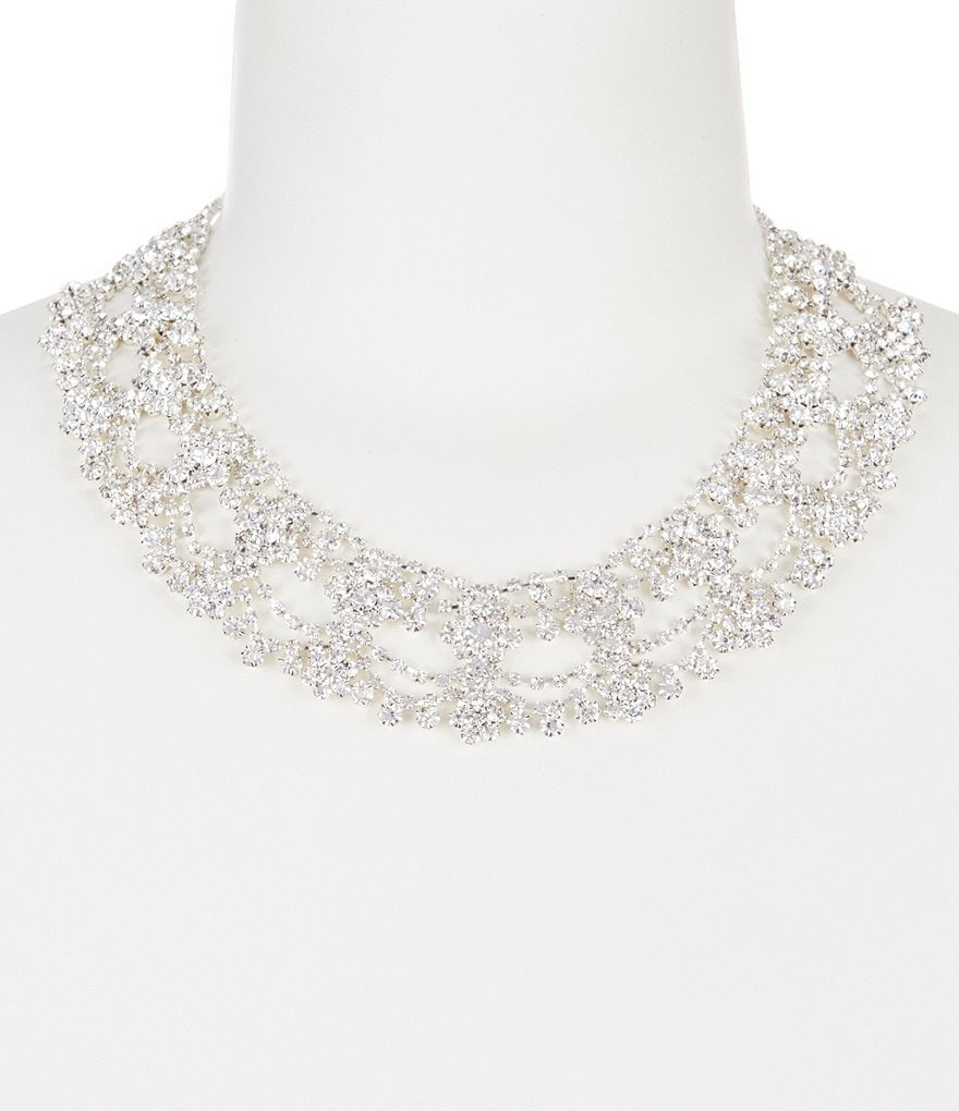 Cezanne Marquessa Rhinestone Statement Necklace