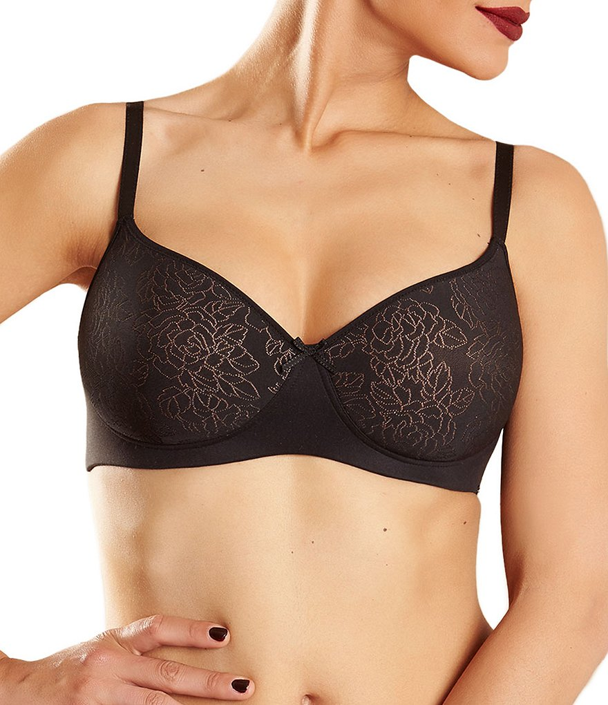 Chantelle Velvet Touch Floral Wire-Free Bra
