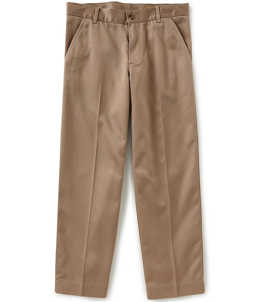 Class Club Big Boys 8-20 Husky Fit Twill Pants