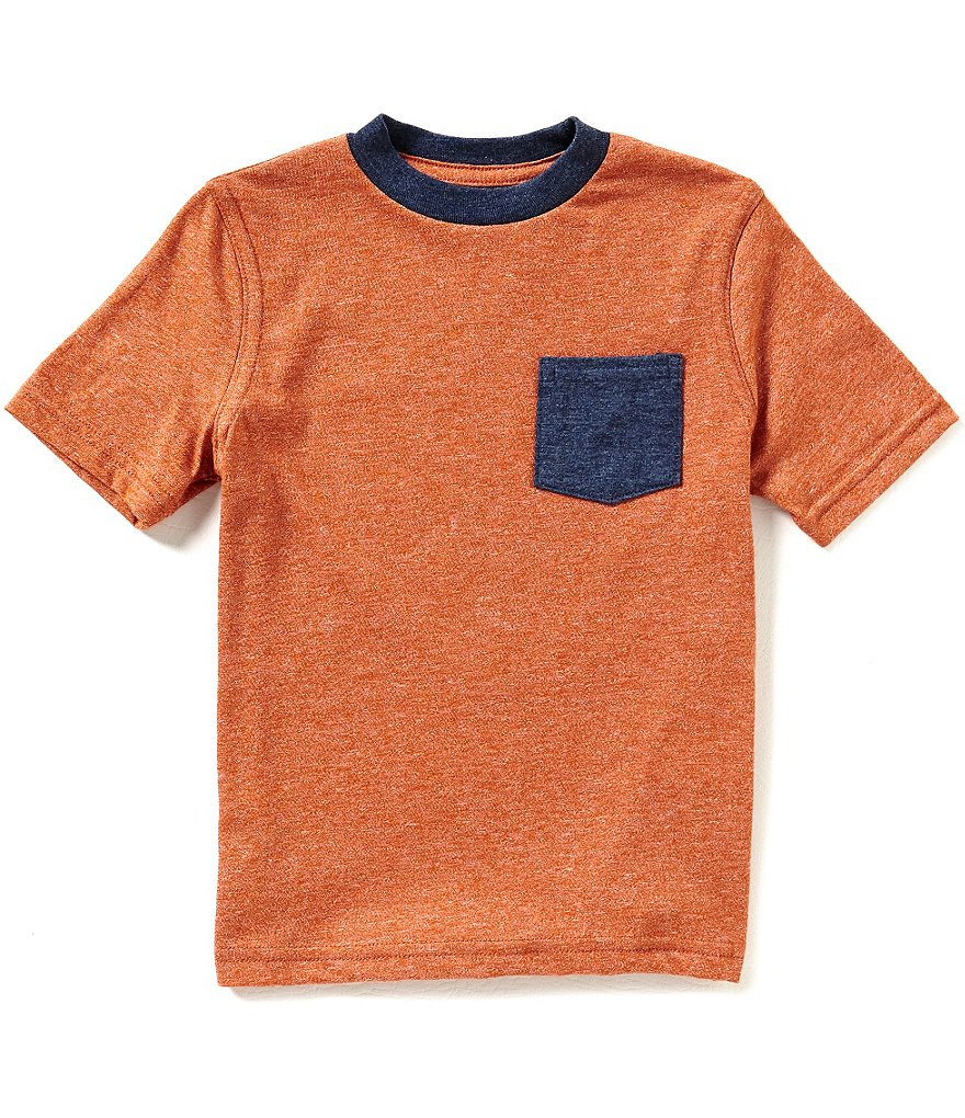 Class Club Little Boys 2T-7 Color Block Short-Sleeve Tee