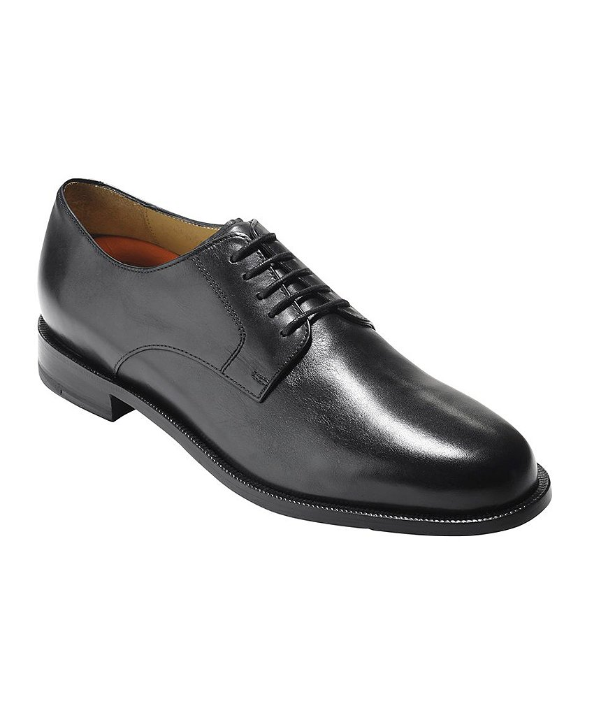 Cole Haan Carter Grand.OS Plain-Toe Dress Shoes