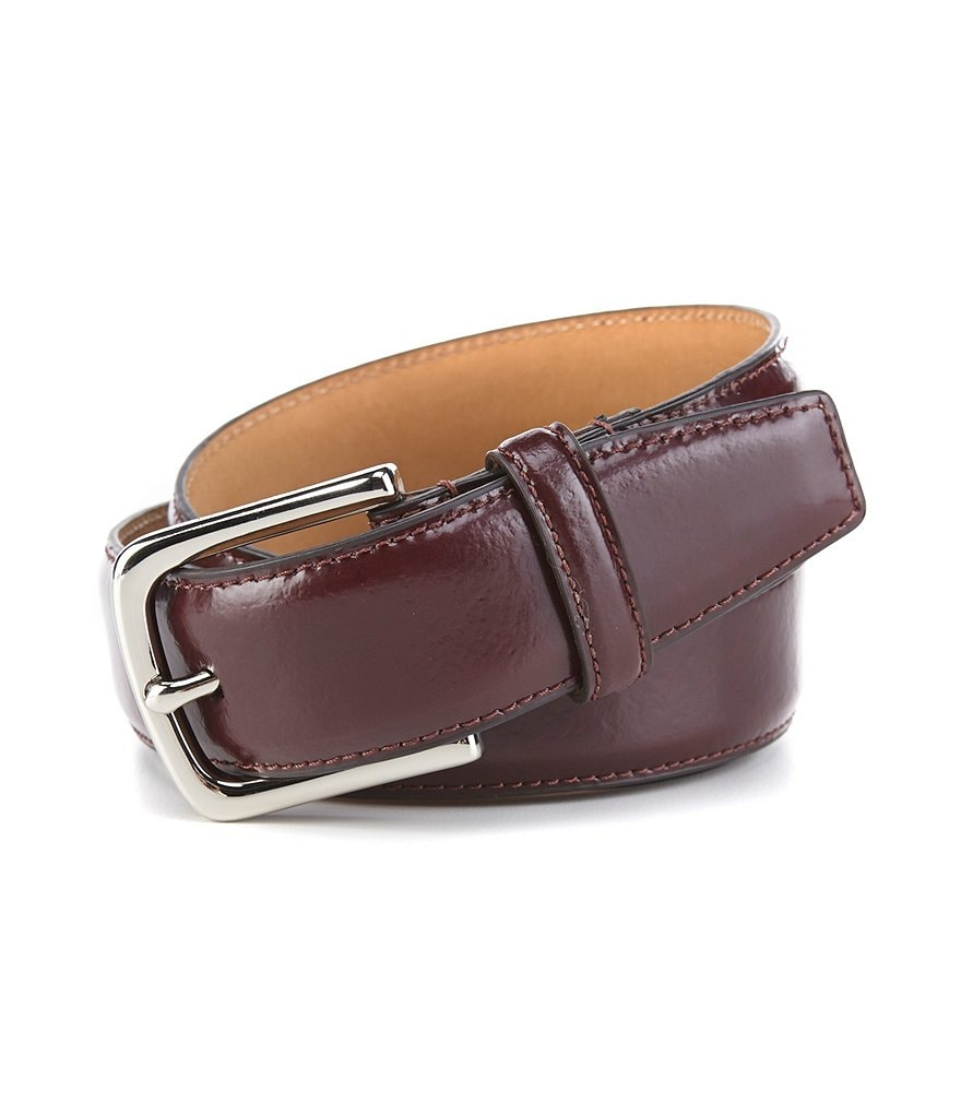 Cole Haan Spazzolato Leather Belt