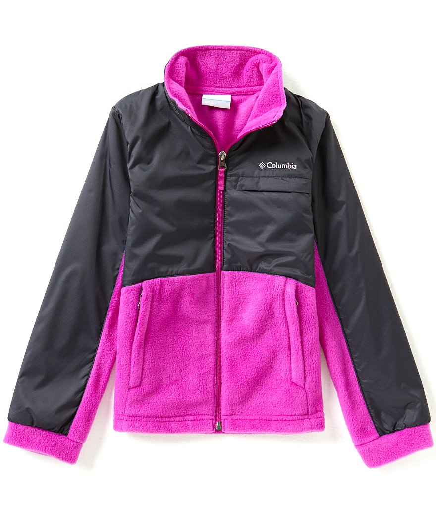 Columbia Big Girls 7-16 Benton Springs III Overlay Fleece Jacket