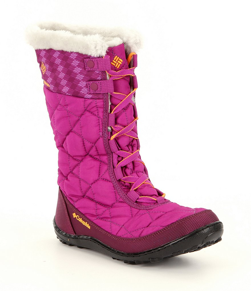 Columbia Girls´ Minx™ Mid II Waterproof Omni-Heat™ Cold Weather Boots
