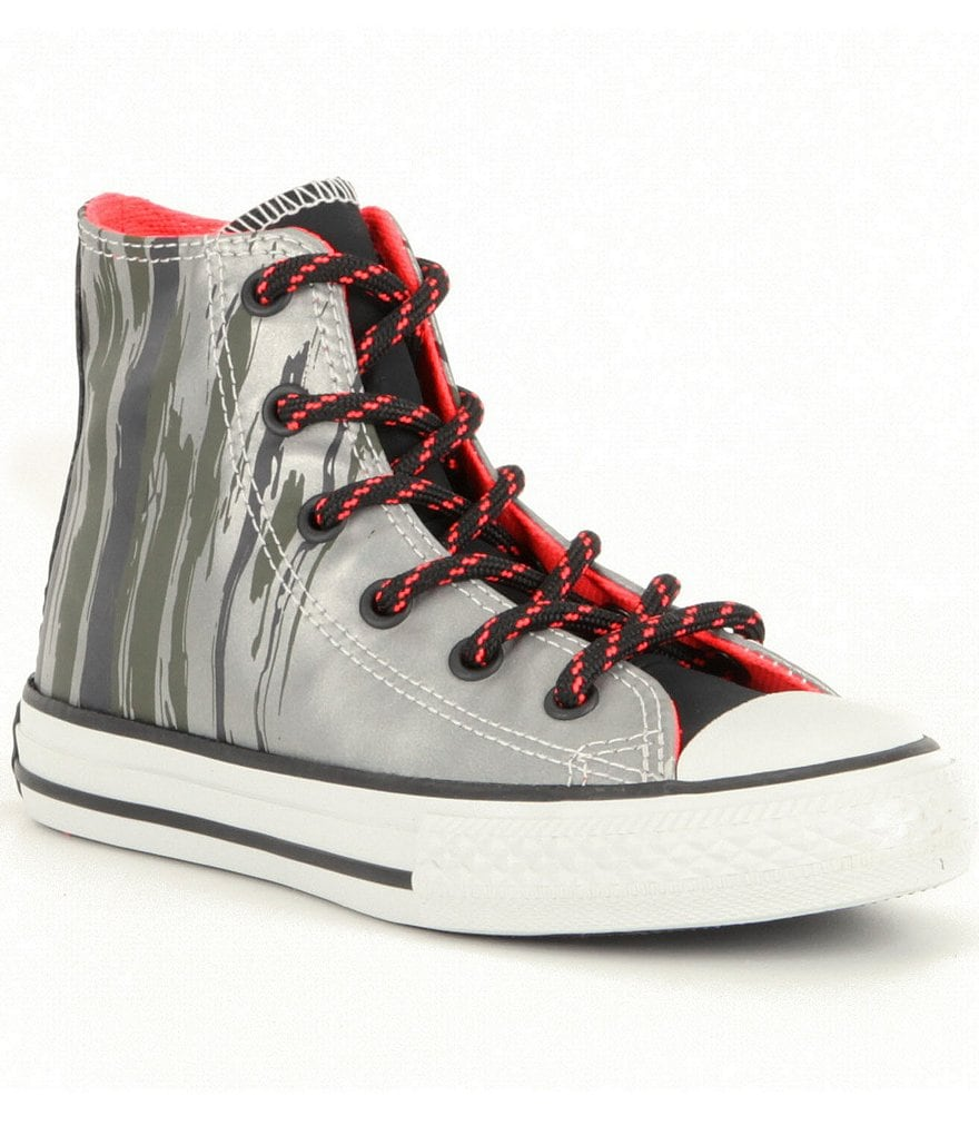 Converse Boys' Chuck Taylor® All Star® Flashflood Hi-Top Sneakers