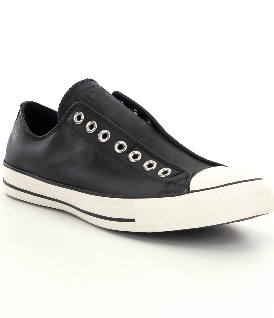 Converse Chuck Taylor® Leather Slip On Shoes