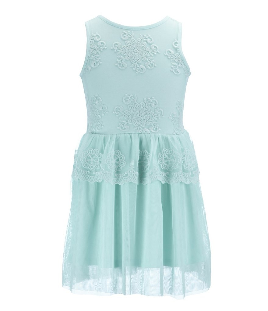 Copper Key Little Girls 2T-6X Lace and Tulle Dress