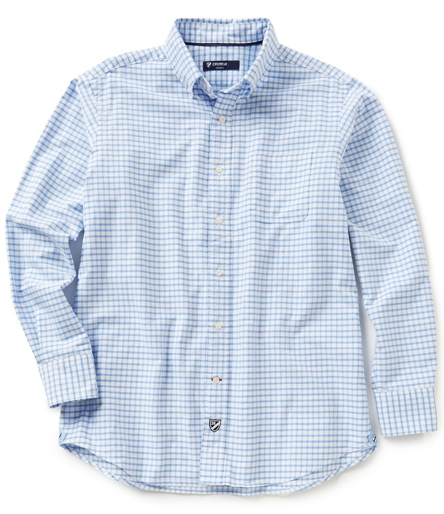 Cremieux Big & Tall Long-Sleeve Graph Oxford Woven Shirt