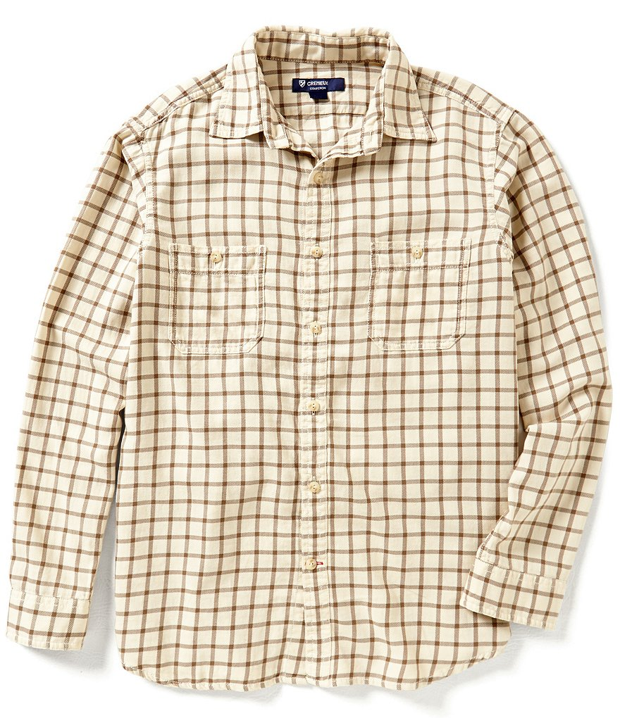 Cremieux Highland Peaks Collection Graph Woven Shirt