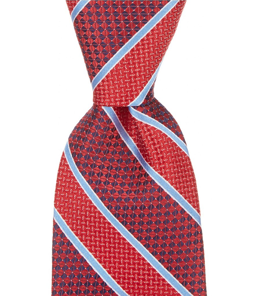 Cremieux Mixed Stripe Traditional Silk Tie
