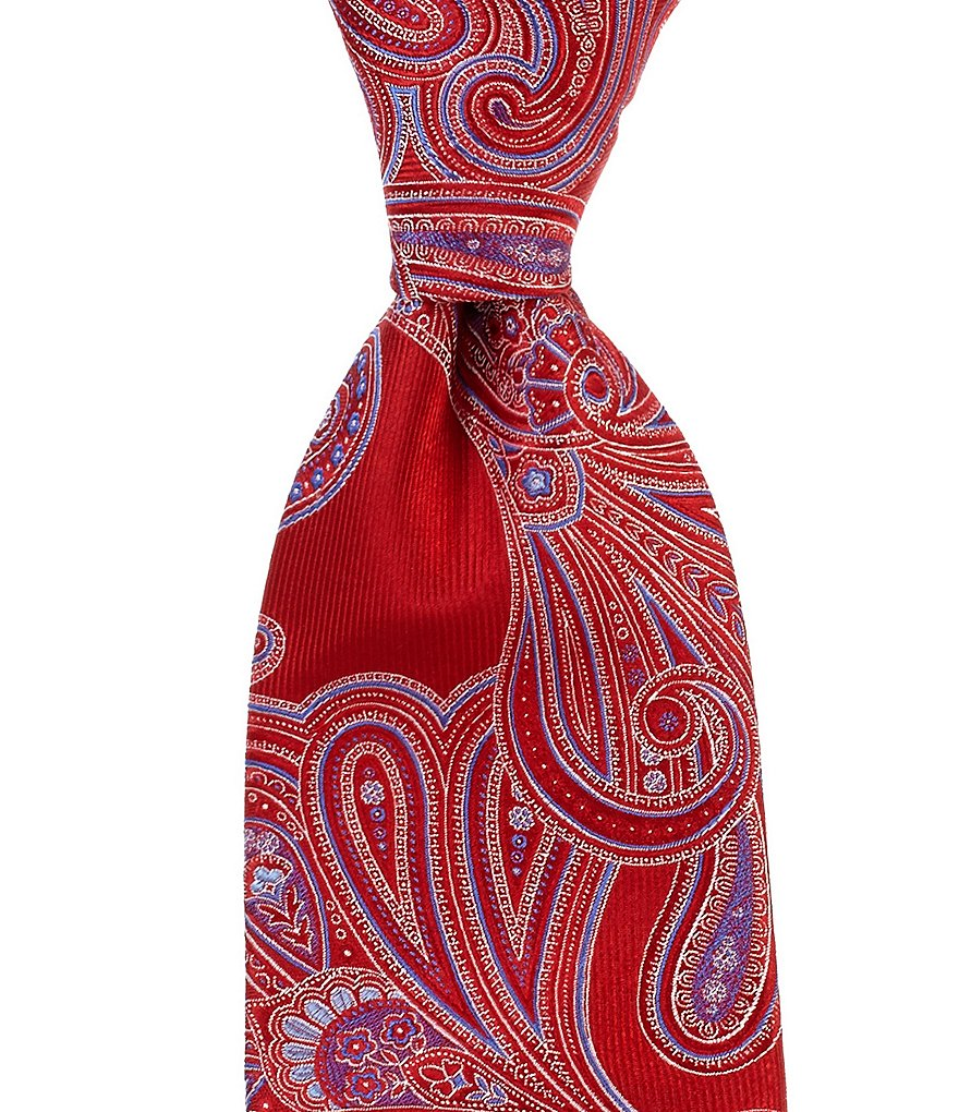 Cremieux Real Paisley Traditional Silk Tie