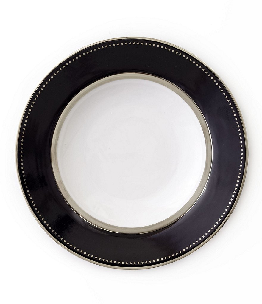 Darbie Angell Black Luxe Salad Plate