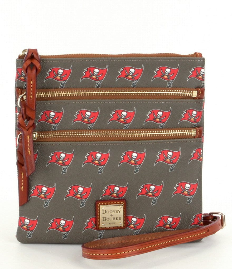 Dooney & Bourke NFL Collection Tampa Bay Buccaneers Triple-Zip Cross-Body Bag