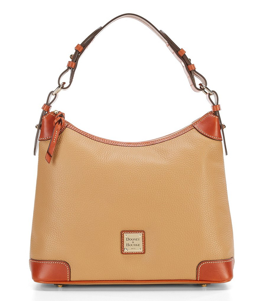 Dooney & Bourke Pebble Leather Hobo Bag