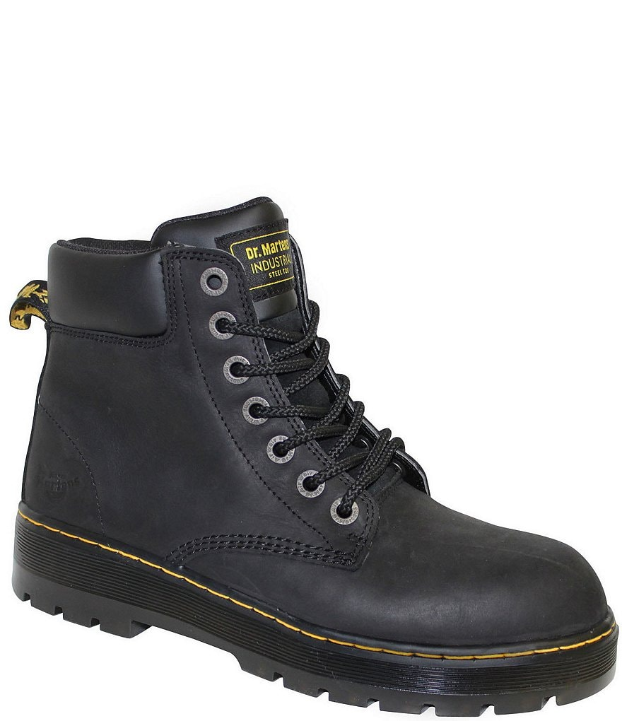 Dr. Martens Winch Steel-Toe Boots