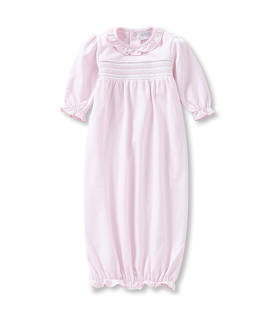 Edgehill Collection Baby Girls Newborn-6 Months Smocked Gown