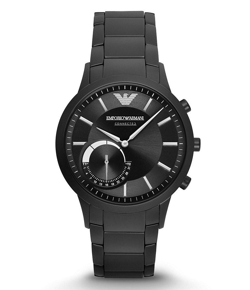 Emporio Armani Connected Stainless Steel Hybrid Smart Watch