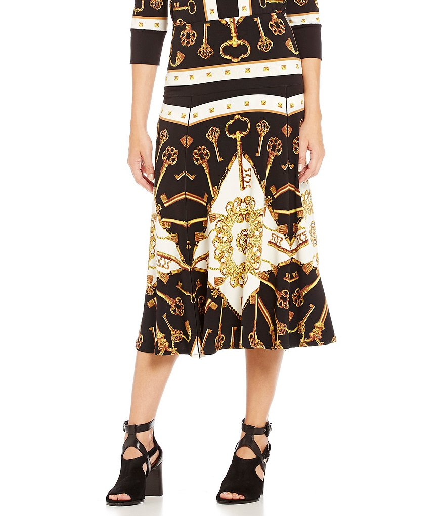 Eva Varro Boot Mid-Length Skirt