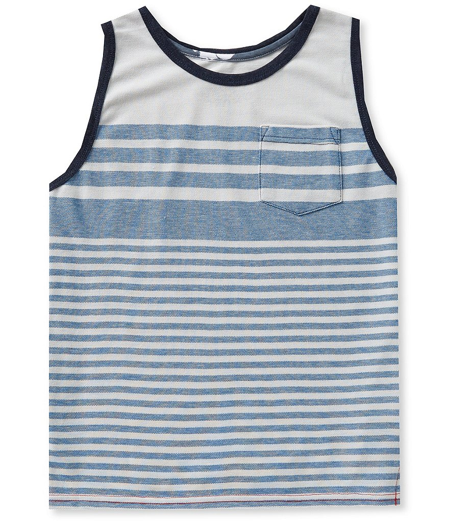 First Wave Big Boys 8-20 Striped Tank
