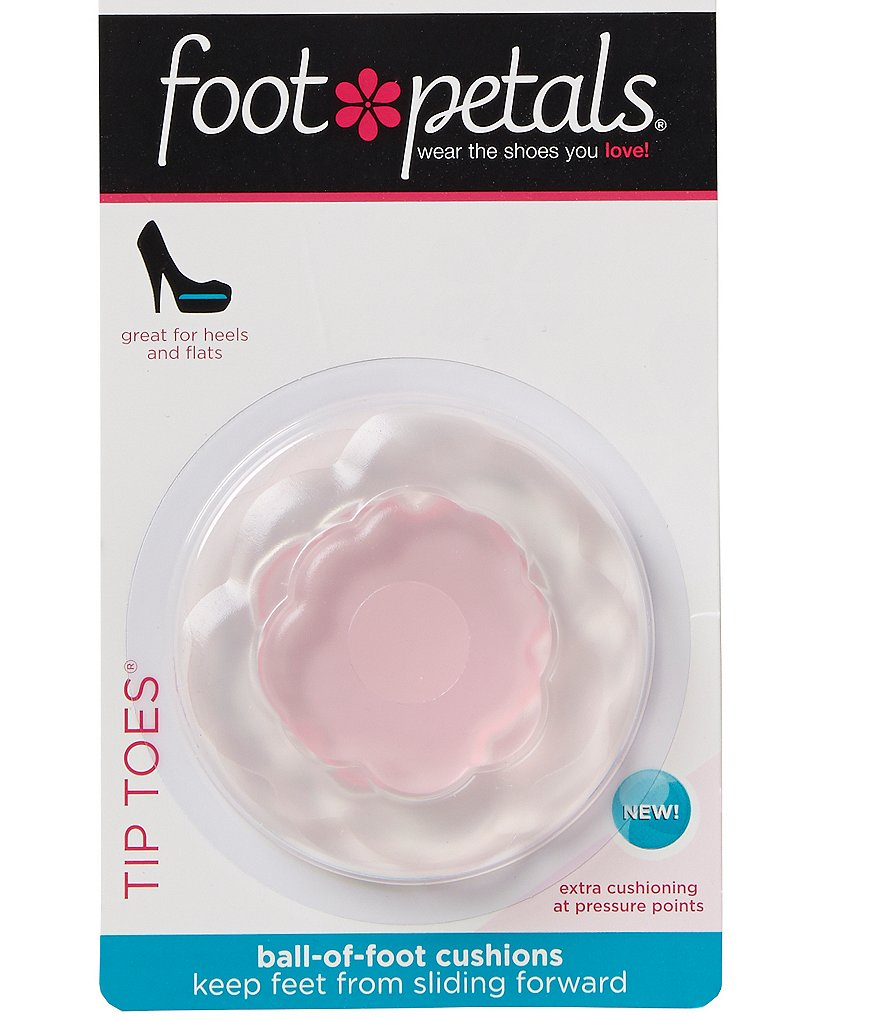 Foot Petals Technogel Tip Toes with Softspots