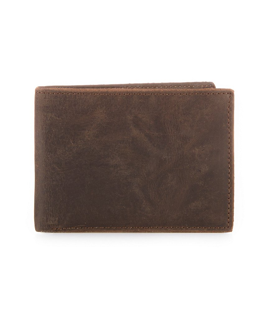 Fossil Anderson Leather Front Pocket Bifold Wallet