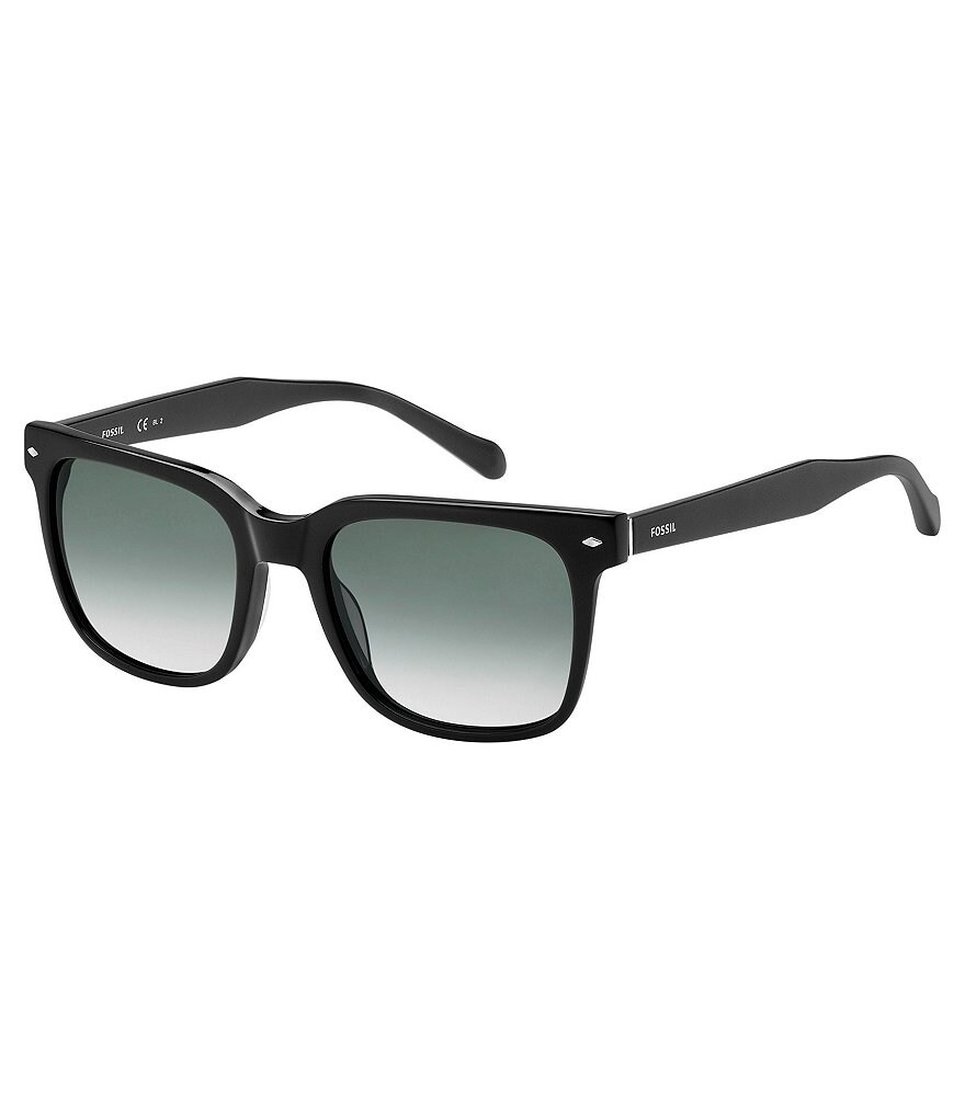 Fossil Retro Rectangle Gradient Sunglasses