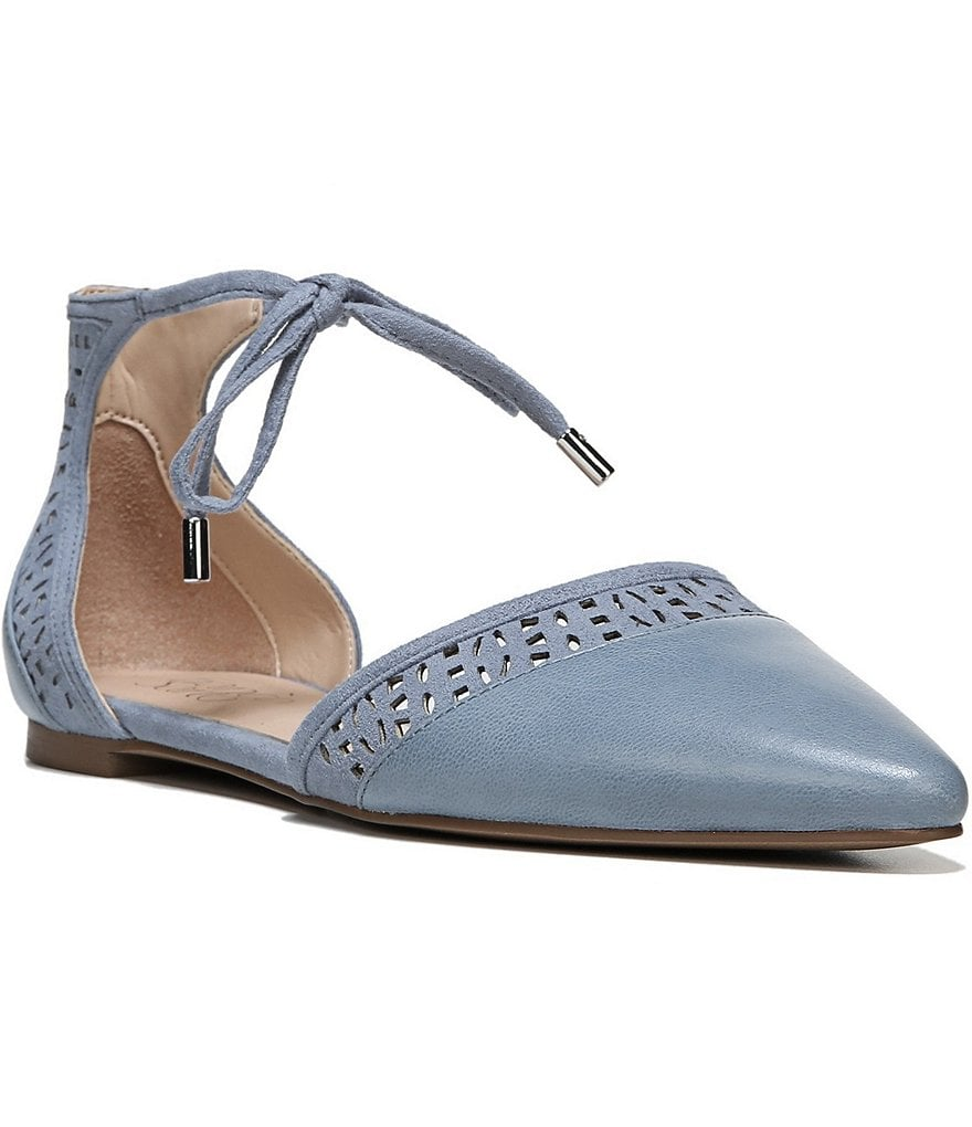 Franco Sarto Shirley d´Orsay Leather Flats
