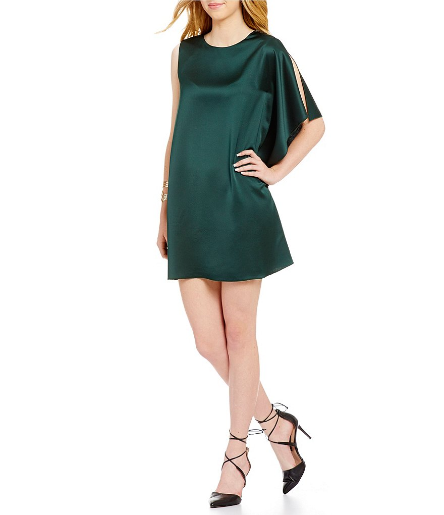 French Connection Sasha Flutter Sleeve Dress