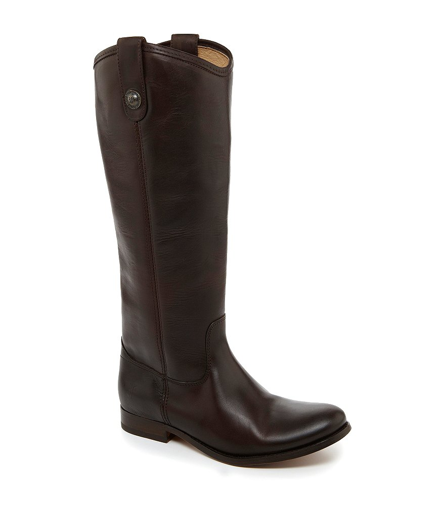 Frye Melissa Button Riding Boots