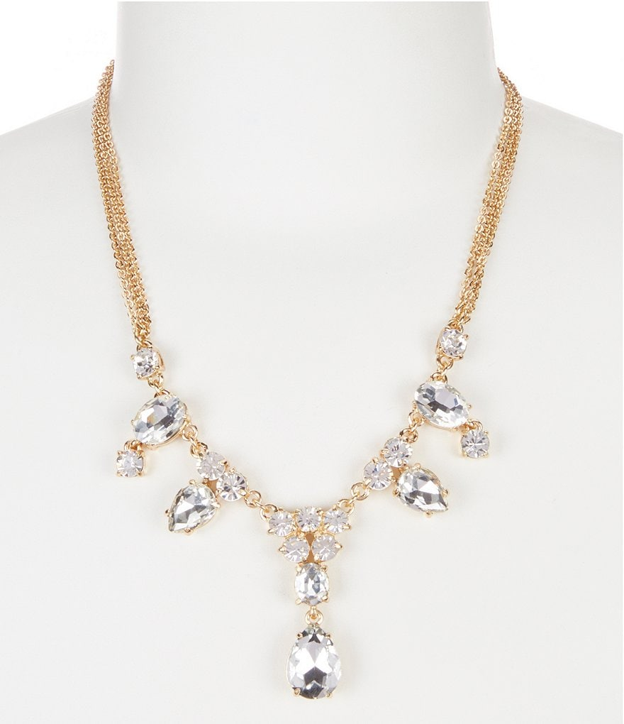 Gemma Layne Crystal Mini Statement Necklace